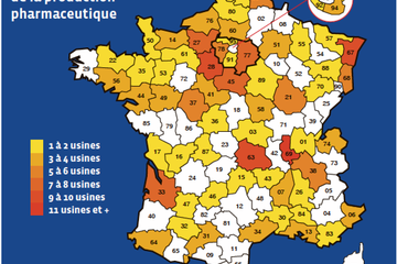 209 sites de production pharmaceutique en France