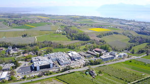 Le site de production de Merck KGaA à Aubonne, en Suisse.